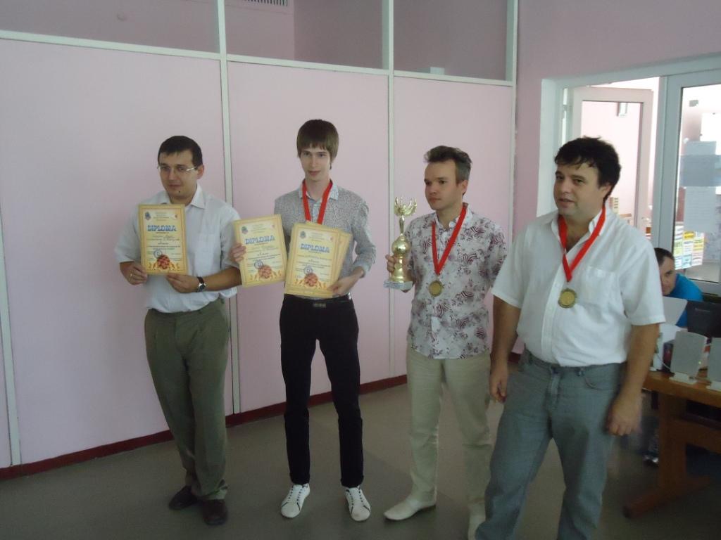 Победители командного чемпионата мира по русским шашкам, Евпатория 2012