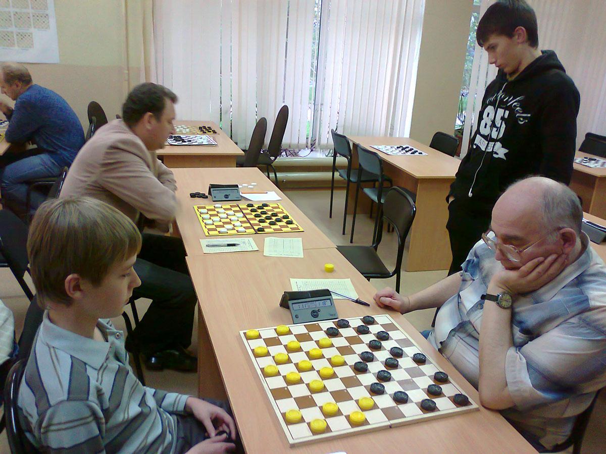 Чемпионат Нижегородской области по стоклеточным шашкам среди мужчин 2012