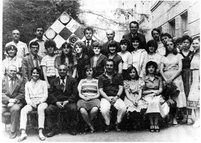 участницы 12 чемпионата ссср среди женщин
